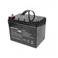 Baterija (akumuliatorius) GC UPS (AGM; VRLA) 12V 33Ah