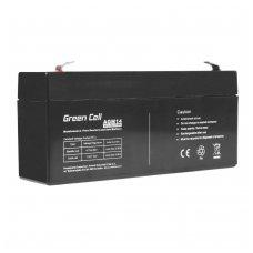 Baterija (akumuliatorius) GC UPS (AGM; VRLA) 6V 3.3Ah