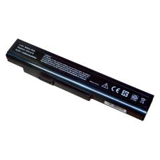 Baterija (akumuliatorius) MSI A6400 CR640 CX640 MEDION MD97744 MD97768 MD97874 (10.8V - 11.1V, 4400mAh)