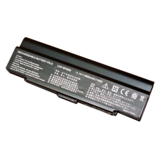Baterija (akumuliatorius) SONY VGN-AR VGN-CR VGN-NR VGN-SZ (BLACK, 6600mAh)