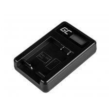 Baterijos (akumuliatoriaus) kroviklis GC BC-CSG skirtas Sony NP-BG1/NP-FG1, DSC H10, H20, H50, HX5, HX10, T50, W50, W70 2.5W 4.2V 0.6A
