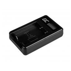Baterijos (akumuliatoriaus) kroviklis GC BC-W126 skirtas Fujifilm NP-W126, FinePix HS30EXR, HS33EXR, HS50EXR, X-A1, X-A3, X-E1 5W 8.4V 0.6A