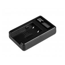 Baterijos (akumuliatoriaus) kroviklis GC CB-2LW skirtas Canon NB-2L / NB-2LH,  PowerShot G7 G9 S70 S80 R100 R11 Canon Elura 85 90 EOS 350D 400D 5W 8.4V 0.6A