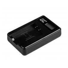 Baterijos (akumuliatoriaus) kroviklis GC LC-E17 skirtas Canon LP-E17, EOS 77D, 750D, 760D, 8000D, M3, M5, M6, Rebel T6i, Rebel T6s, EOS Rebel T7i 5W 8.4V 0.6A