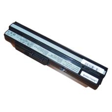 Baterija (akumuliatorius) MSI U90 U100 U120 U130 U200 U250 (BLACK, 6600mAh)