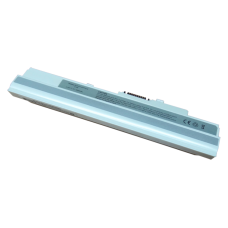 Baterija (akumuliatorius) MSI U90 U100 U120 U130 U200 U250 (WHITE, 4400mAh)