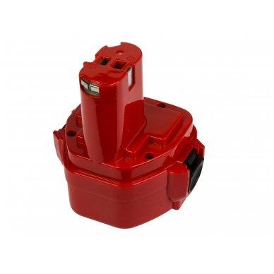 Baterija (akumuliatorius) GC elektriniam įrankiui Makita 1050D 4191D 6270D 6271D 6316D 6835D 8280D 8413D 8434D 3000mAh 12V 2