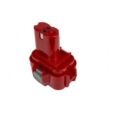 Baterija (akumuliatorius) GC elektriniam įrankiui Makita 6207D 6222D 6261D 6503D 6909D 6991D 9120 9122 9134 9135 PA09 1500mAh 9.6V 3