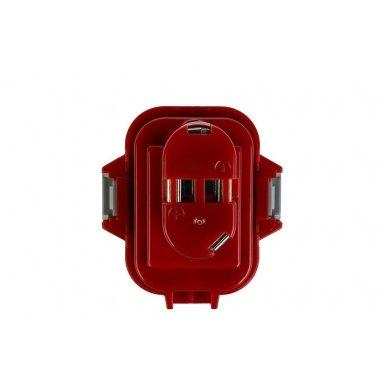 Baterija (akumuliatorius) GC elektriniam įrankiui Makita 6207D 6222D 6261D 6503D 6909D 6991D 9120 9122 9134 9135 PA09 1500mAh 9.6V 4