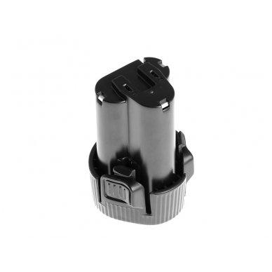 Baterija (akumuliatorius) GC elektriniam įrankiui Makita DA331DWE DF030D DF330D HP330DZ HS300DW TD090 2500mAh 10.8V (12V) 2