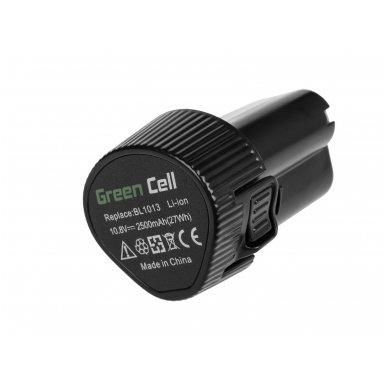 Baterija (akumuliatorius) GC elektriniam įrankiui Makita DA331DWE DF030D DF330D HP330DZ HS300DW TD090 2500mAh 10.8V (12V) 4
