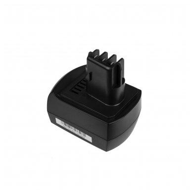 Baterija (akumuliatorius) GC elektriniam įrankiui Metabo BS BST BSZ BZ 9.6 Impuls SP ULA 9.6-18 9.6V 2.1Ah
