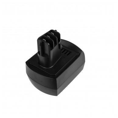 Baterija (akumuliatorius) GC elektriniam įrankiui Metabo BS BST BSZ BZ 9.6 Impuls SP ULA 9.6-18 9.6V 2.1Ah 2