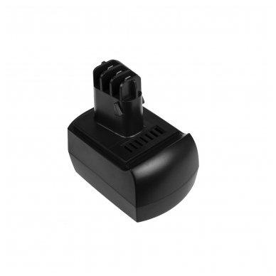 Baterija (akumuliatorius) GC elektriniam įrankiui Metabo BS BST BSZ BZ 9.6 Impuls SP ULA 9.6-18 9.6V 2.1Ah 3