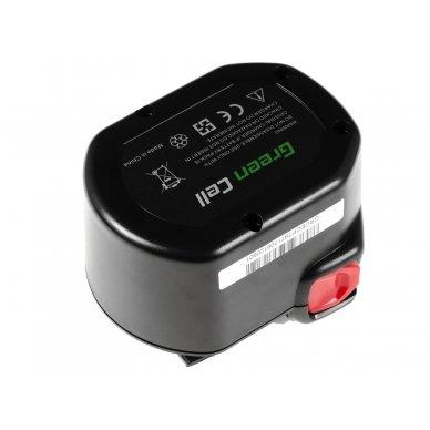 Baterija (akumuliatorius) GC elektriniam įrankiui AEG B1214G B1215R B1220R 12V 2Ah 2