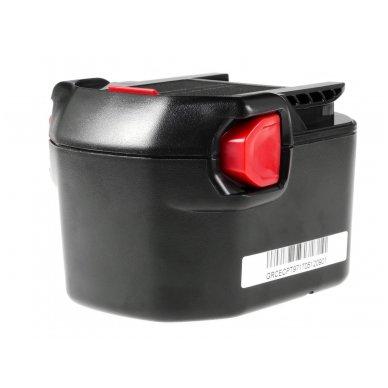 Baterija (akumuliatorius) GC elektriniam įrankiui AEG B1214G B1215R B1220R 12V 2Ah 3