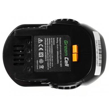Baterija (akumuliatorius) GC elektriniam įrankiui AEG BS 14 G BS 14 X 14.4V 3Ah 4