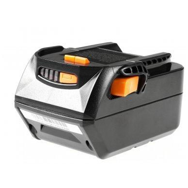 Baterija (akumuliatorius) GC elektriniam įrankiui AEG L1830R B1820R 18V 4Ah 3