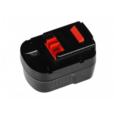 Baterija (akumuliatorius) GC elektriniam įrankiui Black&Decker A12 A1712 HPB12 12V 2Ah