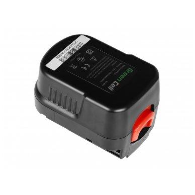 Baterija (akumuliatorius) GC elektriniam įrankiui Black&Decker A12 A1712 HPB12 12V 2Ah 2