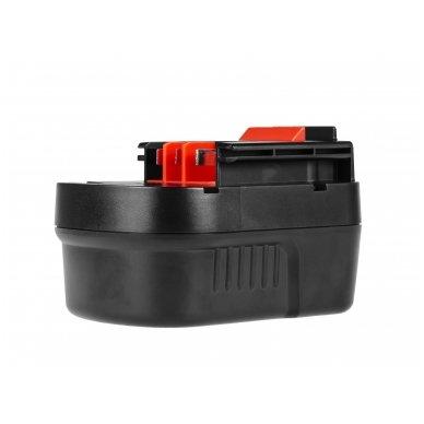 Baterija (akumuliatorius) GC elektriniam įrankiui Black&Decker A12 A1712 HPB12 12V 2Ah 4