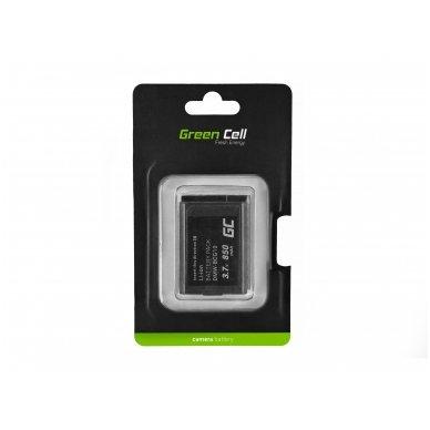 Skaitmeninės kameros baterija (akumuliatorius) GC skirta Panasonic Lumix DMC-TZ10 DMC-TZ20 DMC-TZ30 DMC-ZS5 DMC-ZS10 DMC-ZX1 DMC-ZX3 3.7V 850mAh 5