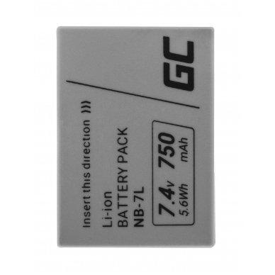 Baterija (akumuliatorius) GC fotoaparatui Canon PowerShot G10, G11, G12, SX30 IS NB-7L NB7L 7.4V 750mAh