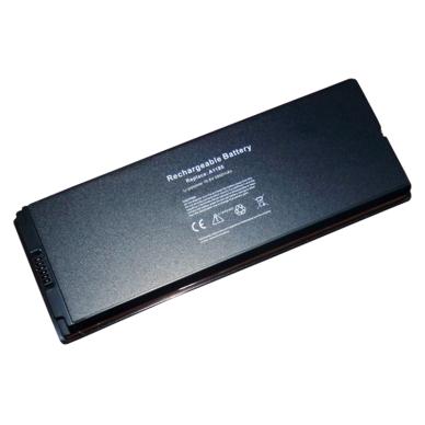 "Baterija (akumuliatorius) APPLE Macbook 13"" A1181 A1342 (juoda, 5600mAh)"