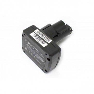 Baterija (akumuliatorius) elektriniam įrankiui Milwaukee, AEG 48-11-2440 12V, Li-Ion, 4000mAh