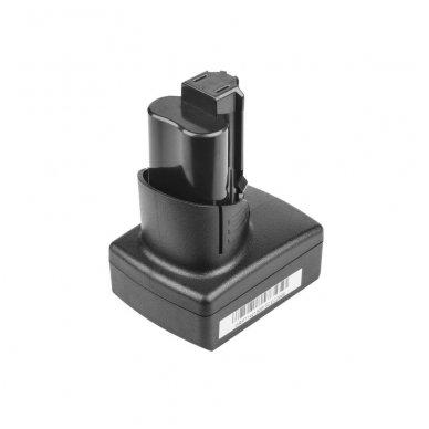 Baterija (akumuliatorius) GC elektriniam įrankiui Milwaukee BPD-0 BDD-202C BSD-0 C12HZ-0 C12MT-0 M12FID M12CDD C12 M12 B2 B3 B4 B6 RedLithium 5000mAh 12V