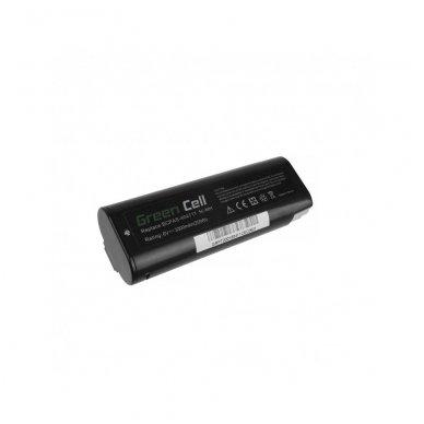 Baterija (akumuliatorius) GC elektriniam įrankiui Paslode IMCT IM50 IM65 IM200 IM250 IM300 IM325 IM350 404400 404717 3300mAh 6V
