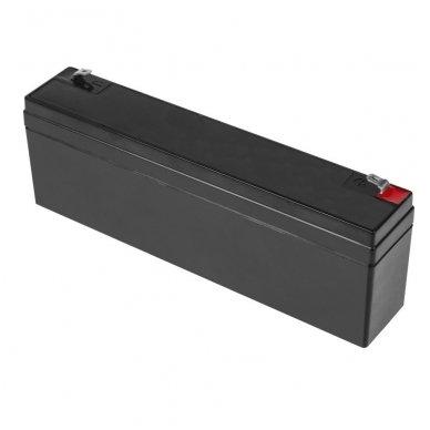 Baterija (akumuliatorius) GC UPS (AGM; VRLA) 12V 2.3Ah 2