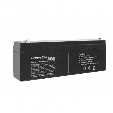 Baterija (akumuliatorius) GC UPS (AGM; VRLA) 12V 2.3Ah