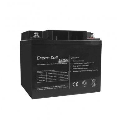 Baterija (akumuliatorius) GC UPS (AGM; VRLA) 12V 40Ah