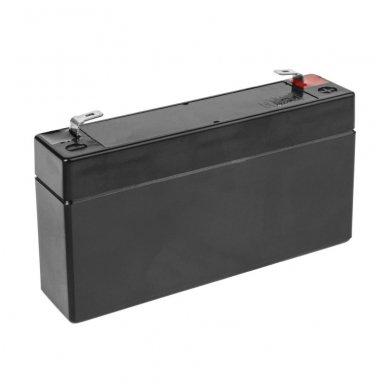 Baterija (akumuliatorius) GC UPS (AGM; VRLA) 6V 1.3Ah 2