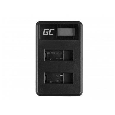 Baterijos (akumuliatoriaus) kroviklis GC AHBBP-501 skirtas GoPro AHDBT-501, HD Hero5, HD Hero6 2.5W 4.35V 0.6A 3