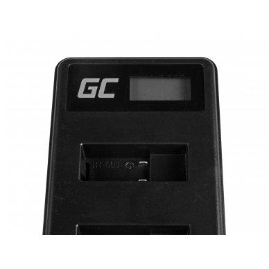 Baterijos (akumuliatoriaus) kroviklis GC AHBBP-501 skirtas GoPro AHDBT-501, HD Hero5, HD Hero6 2.5W 4.35V 0.6A 4