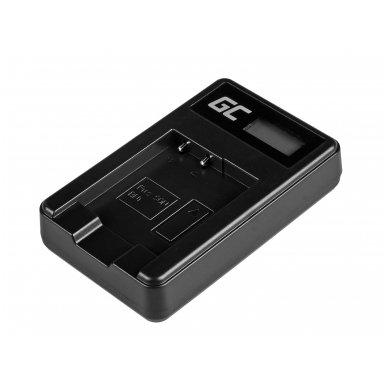 Baterijos (akumuliatoriaus) kroviklis GC BC-CSN skirtas Sony NP-BN1, Cyber-Shot DSC-QX10 DSC-QX100 DSC-TF1 DSC-TX10 DSC-W530 DSC-W650 DSC-W800 2.5W 4.2V 0.6A