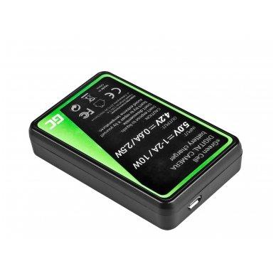 Baterijos (akumuliatoriaus) kroviklis GC BC-CSN skirtas Sony NP-BN1, Cyber-Shot DSC-QX10 DSC-QX100 DSC-TF1 DSC-TX10 DSC-W530 DSC-W650 DSC-W800 2.5W 4.2V 0.6A 2