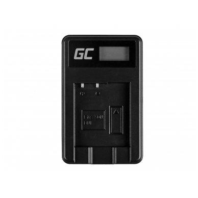 Baterijos (akumuliatoriaus) kroviklis GC BC-CSN skirtas Sony NP-BN1, Cyber-Shot DSC-QX10 DSC-QX100 DSC-TF1 DSC-TX10 DSC-W530 DSC-W650 DSC-W800 2.5W 4.2V 0.6A 3