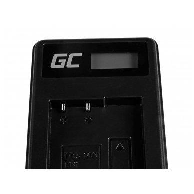 Baterijos (akumuliatoriaus) kroviklis GC BC-CSN skirtas Sony NP-BN1, Cyber-Shot DSC-QX10 DSC-QX100 DSC-TF1 DSC-TX10 DSC-W530 DSC-W650 DSC-W800 2.5W 4.2V 0.6A 4