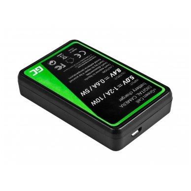 Baterijos (akumuliatoriaus) kroviklis GC BC-W126 skirtas Fujifilm NP-W126, FinePix HS30EXR, HS33EXR, HS50EXR, X-A1, X-A3, X-E1 5W 8.4V 0.6A 2