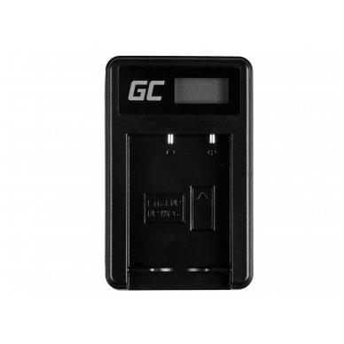 Baterijos (akumuliatoriaus) kroviklis GC BC-W126 skirtas Fujifilm NP-W126, FinePix HS30EXR, HS33EXR, HS50EXR, X-A1, X-A3, X-E1 5W 8.4V 0.6A 3