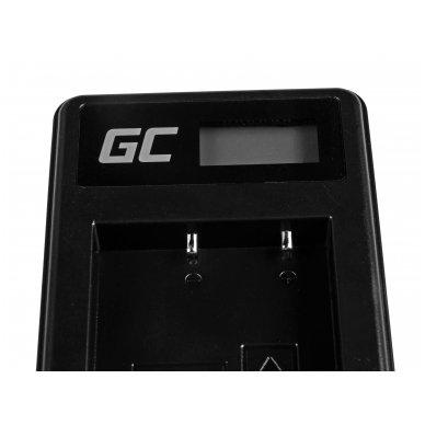 Baterijos (akumuliatoriaus) kroviklis GC BC-W126 skirtas Fujifilm NP-W126, FinePix HS30EXR, HS33EXR, HS50EXR, X-A1, X-A3, X-E1 5W 8.4V 0.6A 4