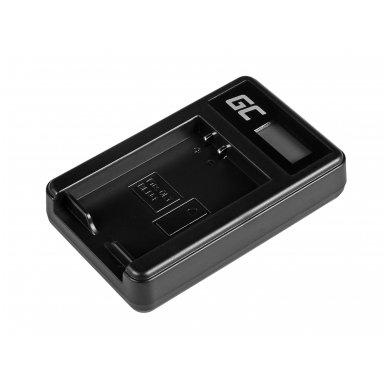 Baterijos (akumuliatoriaus) kroviklis GC BCN-1 skirtas Olympus BLN-1/BCN-1, PEN-F, OM-D EM1, EM5, OM-D E-M5 Mark II 5W 8.4V 0.6A