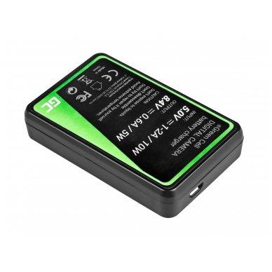 Baterijos (akumuliatoriaus) kroviklis GC BCN-1 skirtas Olympus BLN-1/BCN-1, PEN-F, OM-D EM1, EM5, OM-D E-M5 Mark II 5W 8.4V 0.6A 2