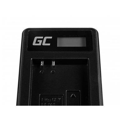 Baterijos (akumuliatoriaus) kroviklis GC BCN-1 skirtas Olympus BLN-1/BCN-1, PEN-F, OM-D EM1, EM5, OM-D E-M5 Mark II 5W 8.4V 0.6A 4