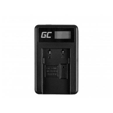 Baterijos (akumuliatoriaus) kroviklis GC CB-2LW skirtas Canon NB-2L / NB-2LH,  PowerShot G7 G9 S70 S80 R100 R11 Canon Elura 85 90 EOS 350D 400D 5W 8.4V 0.6A 3
