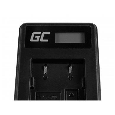 Baterijos (akumuliatoriaus) kroviklis GC CB-2LW skirtas Canon NB-2L / NB-2LH,  PowerShot G7 G9 S70 S80 R100 R11 Canon Elura 85 90 EOS 350D 400D 5W 8.4V 0.6A 4