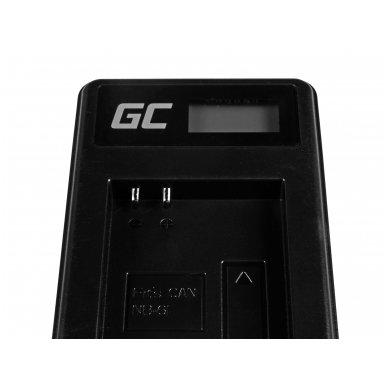 Baterijos (akumuliatoriaus) kroviklis GC CB-2LY skirtas Canon NB-6L/6LH, PowerShot SX510 HS, SX520 HS, SX530 HS, SX600 HS, SX700 HS, D30 2.5W 4.2V 0.6A 4